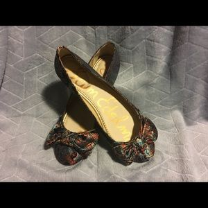 Sam Edelman Bowed Multi Colored Flats